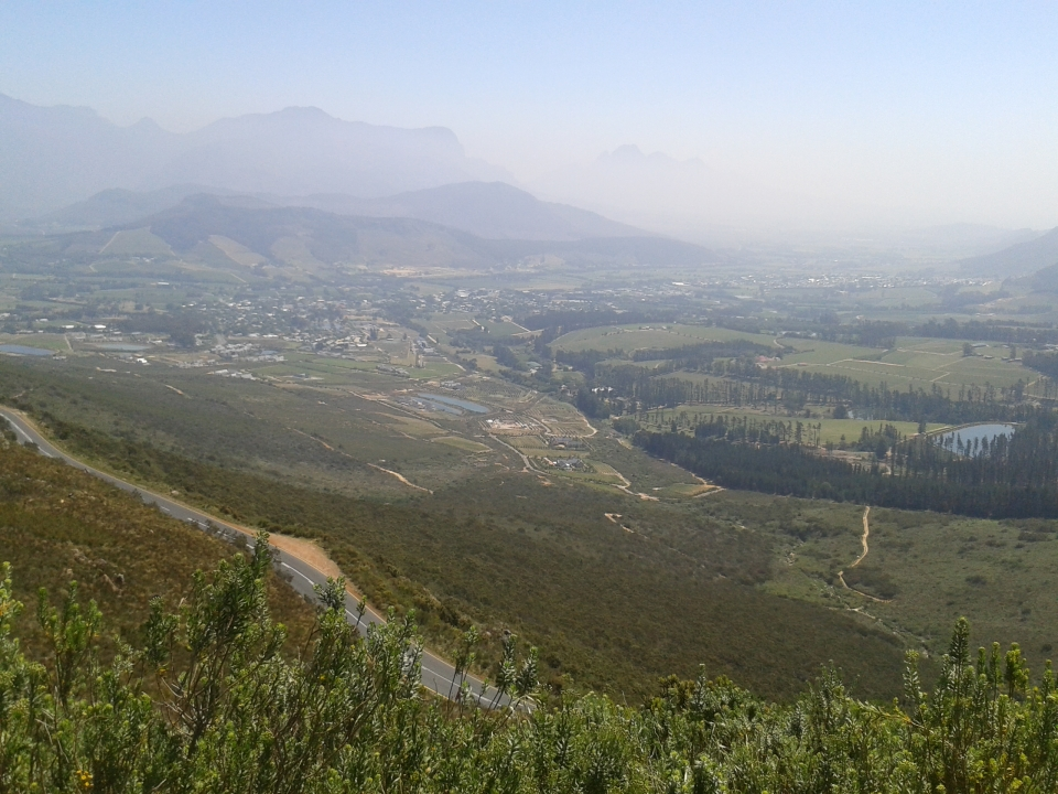 FROM FRANSCHHOEK PASS